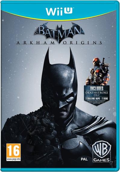 Batman Arkham Origins - Wiiu