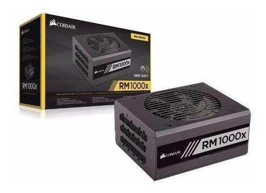Fonte Corsair Rm1000x Modular 80 Plus Gold 1000w - Rm Series