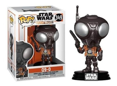 Muñeco Funko Pop Star Wars Mandalorian Q9-0 349 Original