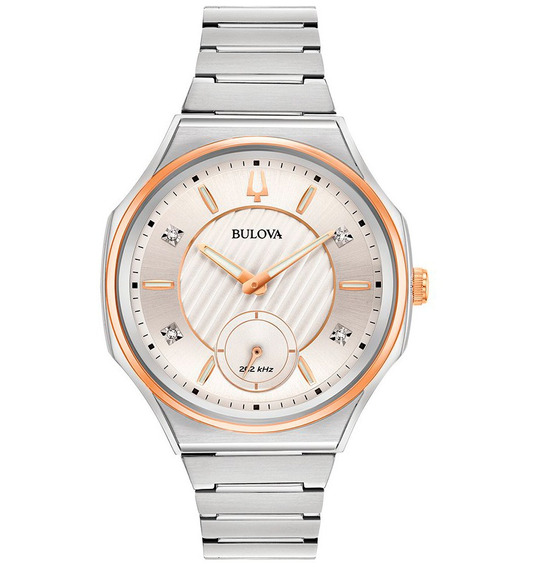 Reloj Bulova Curv Diamond 98p182 Nuevo Original E-watch