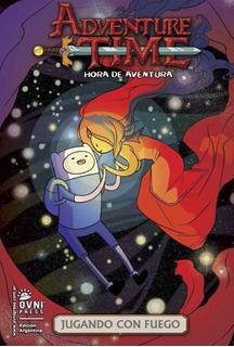 Comic Adventure Time: Jugando Con Fuego - Autores Varios