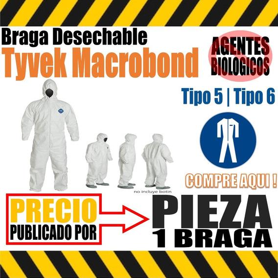 Braga Tyvek Desechable Protección Macrobond Precio X 2 Unds