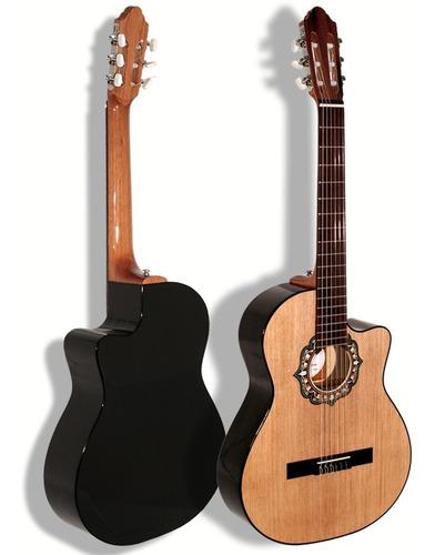 Guitarra Criolla Fonseca 39k Con Corte - Oddity