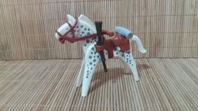 Lote 5144 - Cavalo Branco E Cinza - Montarias Do Velho Oeste