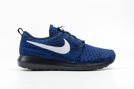 Tênis Nike Roshe One Flyknit Azul Tamanho 35