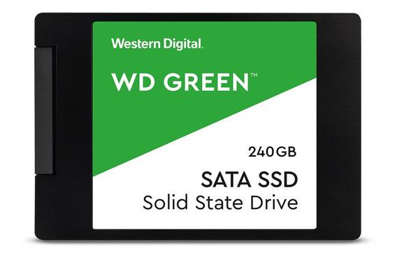 Ssd 240gb Western Digital Green 540mbps Note Gamer