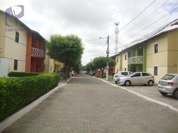 Casa Com 2 Dormitórios À Venda, 65 M² Por R$ 160.000 - Lagoa Redonda - Fortaleza/ce - Ca3006