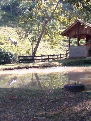 Chacara Possui Casa, Galpão Duas Lagoas E Pastagem.