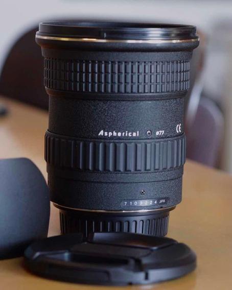 Lente Tokina 12-24mm At-x Pro Dx F/4 Para Canon