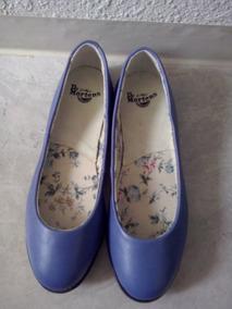 Zapato Dr Martens Azul Talla 3.5 Mex