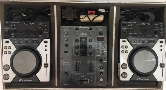 Djm400 + 2 Cdjs400 Com Case