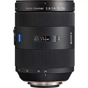 Lente Sony 24-70mm F/2.8 Carl Zeiss T* Standard A-mount