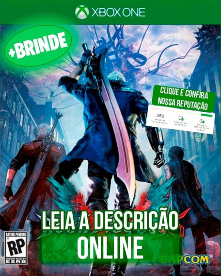 Devil May Cry 5 Edição Deluxe I Xbox One I Online + Brinde