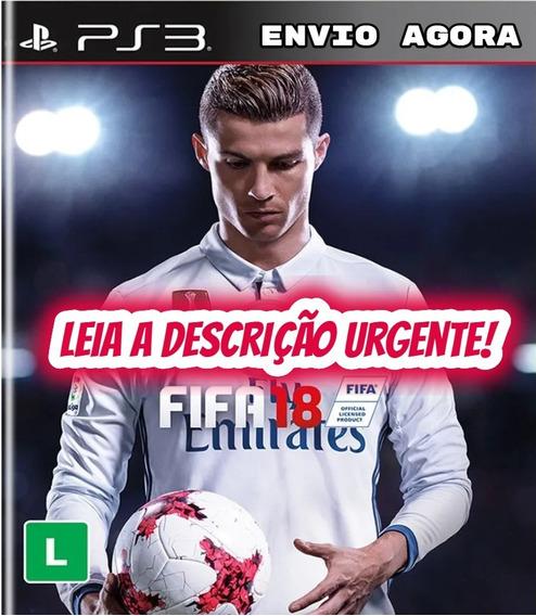 Fifa 18 Ps3 Psn Jogo Digital Envio 5 Min Original