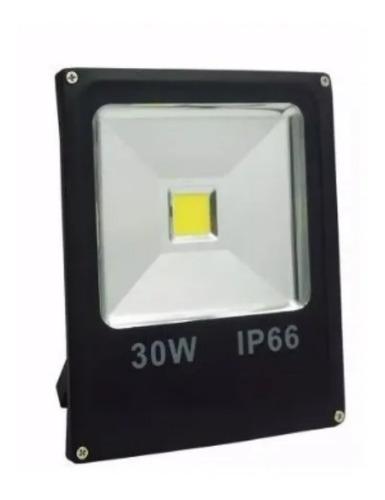 Foco Led 30w Reflector Exterior Ip66 Luz Fría