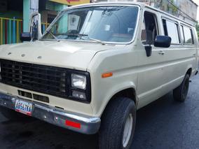 Camioneta Ford Super Wagon Buseta Pasajero Lista Para Viajar