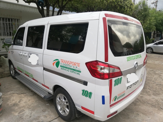 Foton Mini Van Minivan Pasajeros 7
