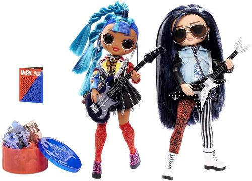 L.o.l. Surprise! Remix Rocker Boi Y Punk Grrrl 2 Muñecas
