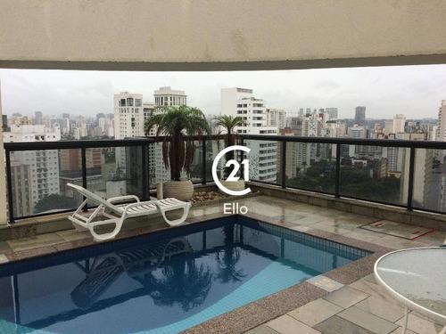 Flat Residencial À Venda, Moema Áassaros, São Paulo. - Fl0091