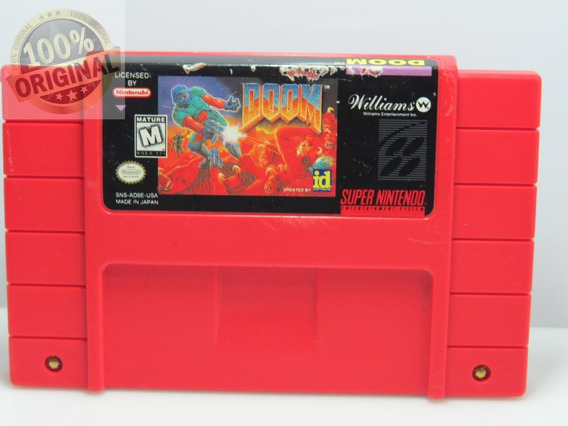 Cod 59 Doom Snes Original Super Nintendo Cartucho