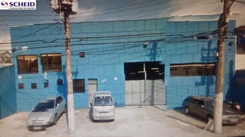 Imagem 1 de 1 de Ótimo Galpão, Boa Localização, Para Pequenas Empresas - Mr49997