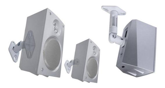 Suporte Caixa Acústica De Home Theater Spht41 Par Branco