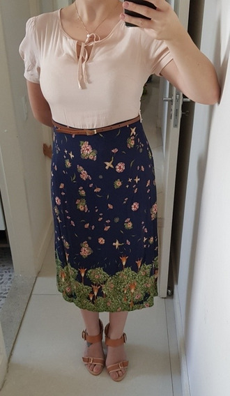 Vestido Midi Kitison Tipo Antix Tam M