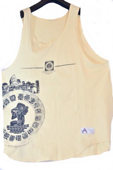 Musculosa Hombre Xxl Estampado Mundo Maya Dc Athletic Wear