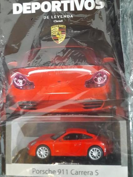 Coleccion Auto Deportivo De Leyenda N°3 Porsche 911 Carrera