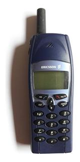 Celular Ericsson 228d Modelo Antiguo + Funda S/cargador