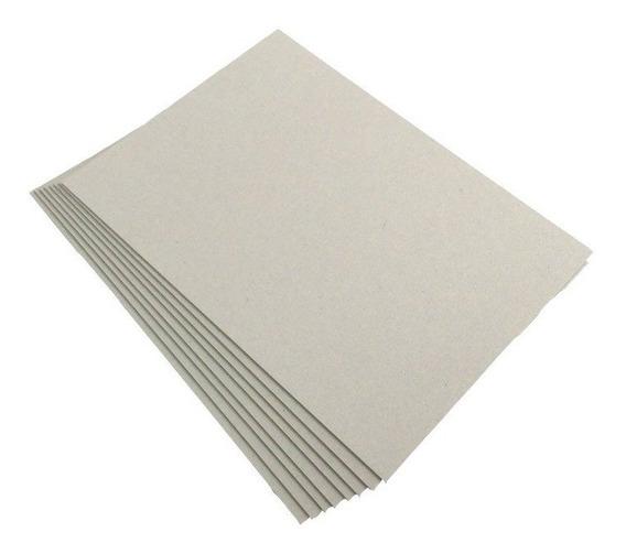 Plancha Carton Gris 2 Mm 70x100 Cm