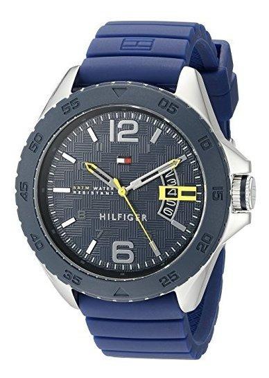 Tommy Hilfiger 1791204 Reloj Deportivo Casual De Acero Inoxi