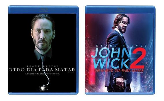Otro Dia Para Matar Y John Wick 2 Paquete Peliculas Blu-ray