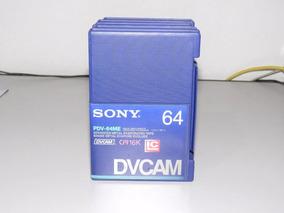 Caixa Com 10 Unidades De Fita Sony Fita Dvcam Pdv64me