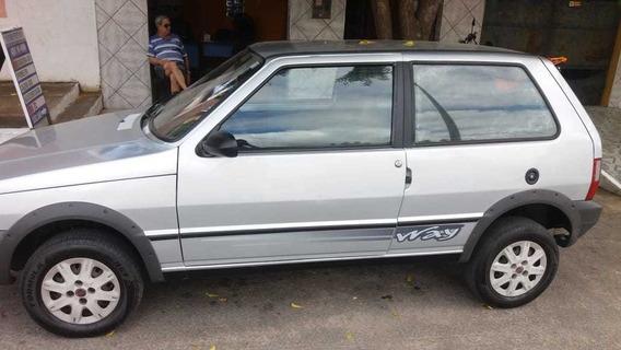Fiat Mille 1.0 Prata 2010 3 Portas