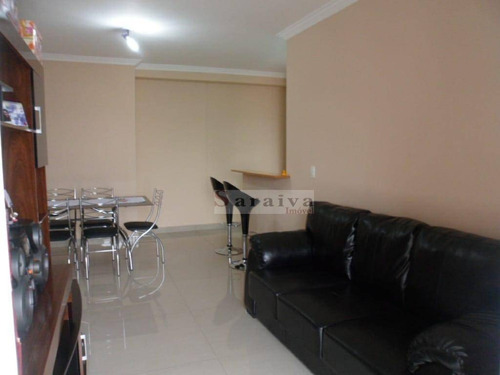 Imagem 1 de 25 de Apartamento Com 3 Dormitórios À Venda, 83 M² Por R$ 745.000,00 - Centro - São Caetano Do Sul/sp - Ap3708