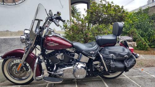 Imagem 1 de 12 de Harley Davidson Softail Heritage Classic Flstc 2014