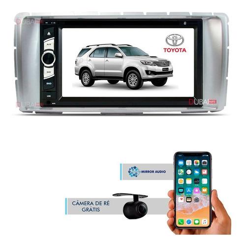 Central Multimídia Dvd Toyota Hilux Sw4 2012 2013 2014 2015