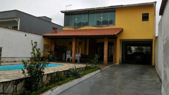 Casa/piscina Mongagua (enfrente A Praia)