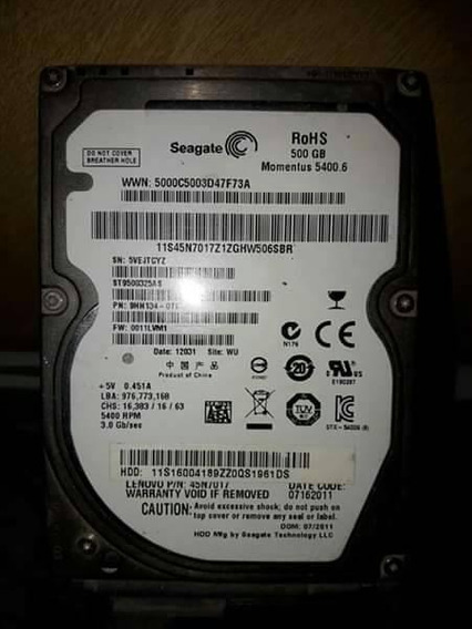 Disco 500 Gb