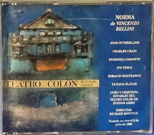 Norma, Opera Grabada En Vivo De Vincenso Bellini (original)