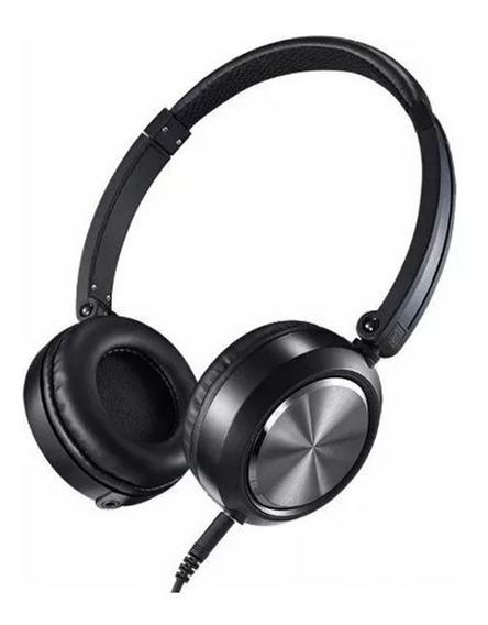 Fone De Ouvido Yoga On-ear Cd46 C/ Microfone Cabo Removível