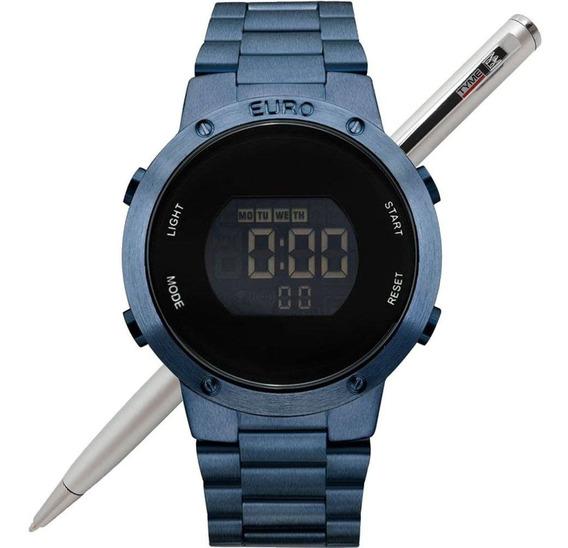 Relógio Euro Feminino Fashion Fit Digital Eubj3279ac/4a Nfe