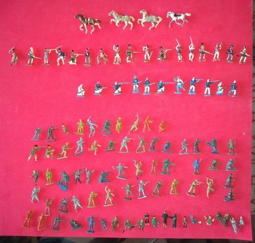 Lote De Soldaditos Plásticos Escala 1/72