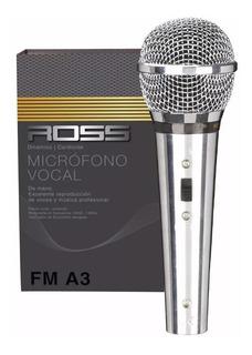 Microfono Ross Fm -a3