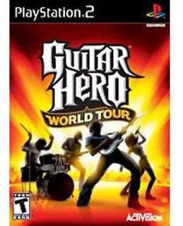 ..: Guitar Hero World Tour Playstation 2 Nuevo :.. Bsg