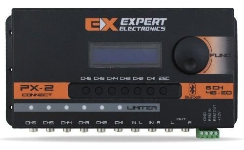 Crossover Digital Bluetooth Expert Px2 Equalizado Processado
