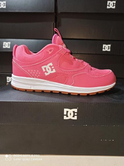 Tênis Dc Importado Original Josh Kallys Lite Rosa Pink N36br