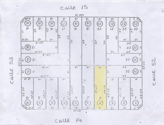 Lote Baldio - Calle 14 Entre 52 Y 53 De Mar Del Tuyu