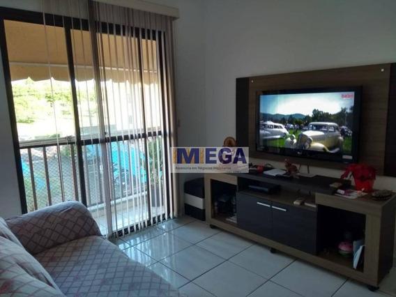Apartamento Com 2 Dormitórios Condomínio Portal Do Lago Ii, 60 M² Por R$ 200.000 - Jardim Do Lago Continuação - Campinas/sp - Ap4021
